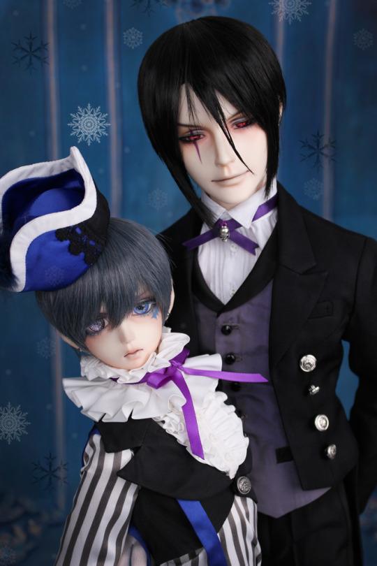 Black Butler Sebastian Character Doll Anime Inferno