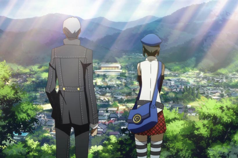 Persona4 Mariu & Yu