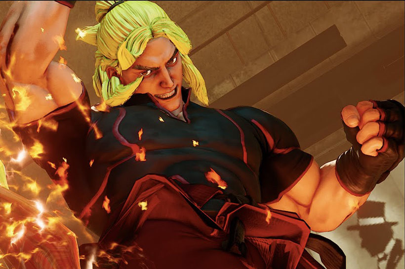 Street Fighter V Final Beta - Ken