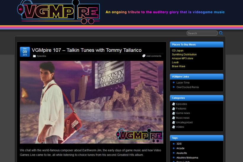 Tommy Tallarico Interview VGMpire