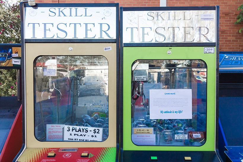 February 2016 Arcade sale - Skill Testers