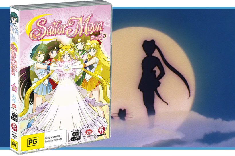 March 2016 Sailor Moon Collection 2 DVD Review, feature image