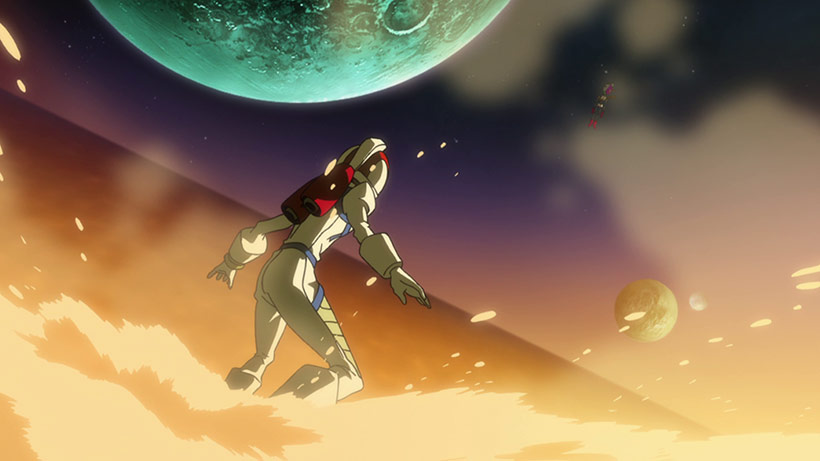 March 2016 Space Dandy Part 2 Blu-Ray Review, screenshot 1 image