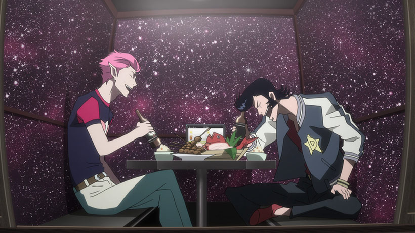 March 2016 Space Dandy Part 2 Blu-Ray Review, screenshot 3 image