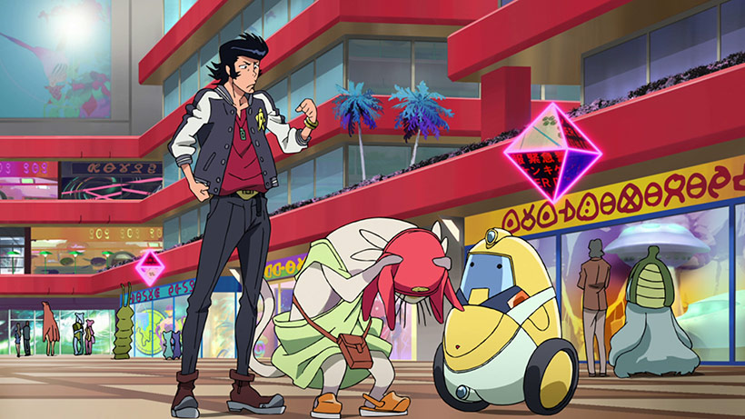 March 2016 Space Dandy Part 2 Blu-Ray Review, screenshot 6 image