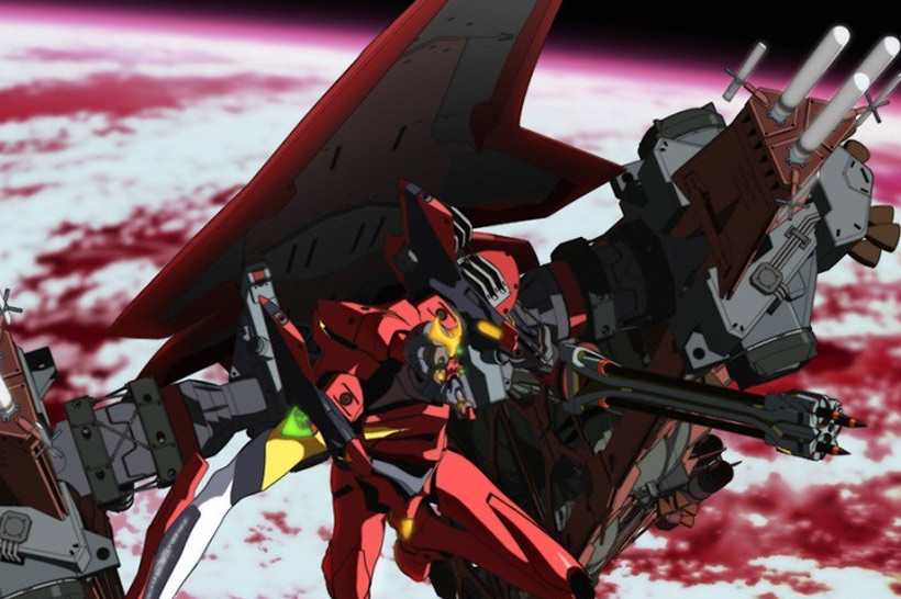 Evangelion Opening Sequence with Eva Production Model-02B