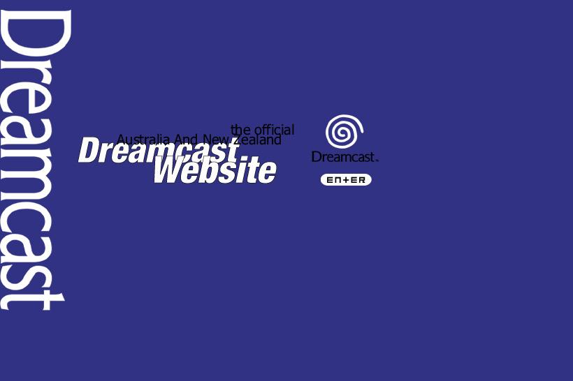 April 2016 - Dreamcast remembered, Australian website splash image