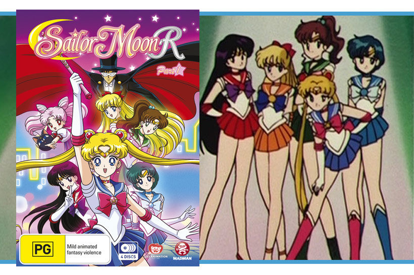 May 2016 Sailor Moon R Part 1 DVD Review, feature image