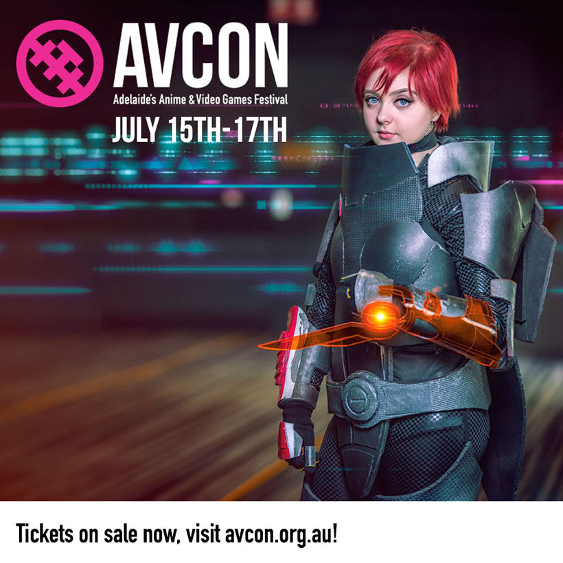July 2016, AVCon Promo image