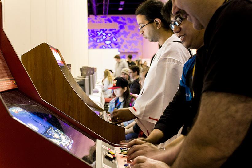 July 2016, AVCon Retro games 3 image