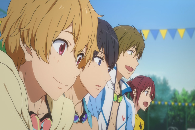 Free Haru has never known happiness