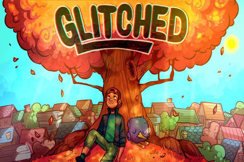 Glitched Header