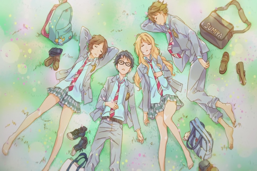 Your Lie in April Sleppin
