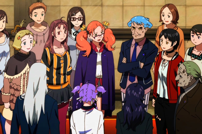 The majority of Staff at Butterfly Law, with Ageha in the center.