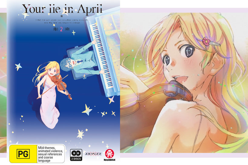 Your Lie in April Header