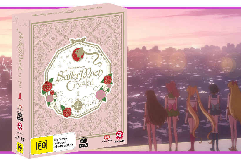 January 2017, Sailor Moon Crystal Set 1, Feature image