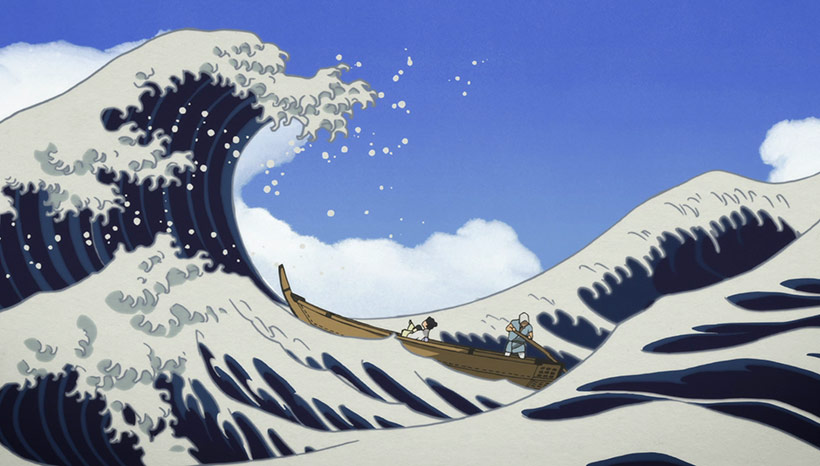February 2017, Miss Hokusai, image 2