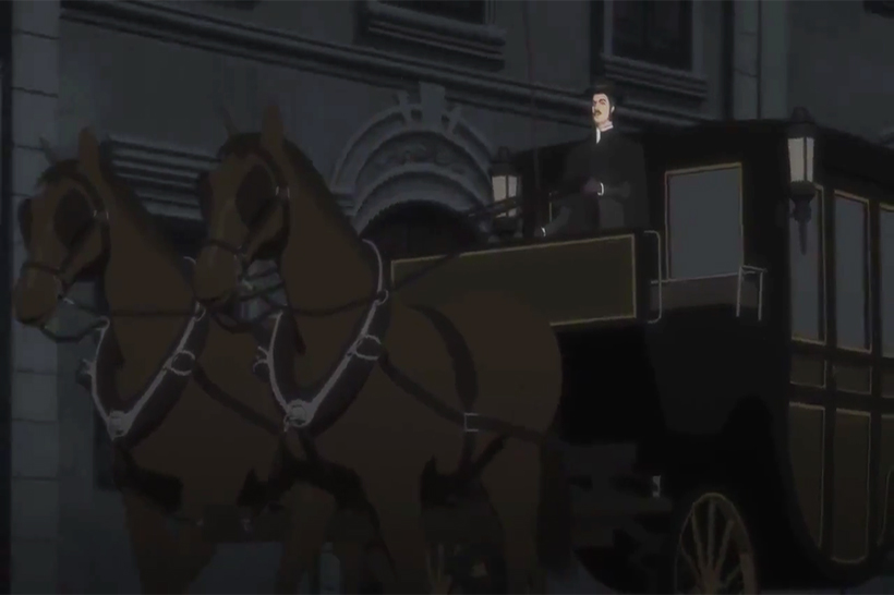 Book of Murder Horse and Carriage