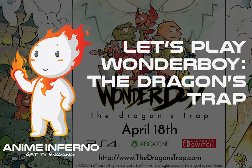 May 2017, Video - Lets Play Wonderboy - The Dragon's Trap feature image