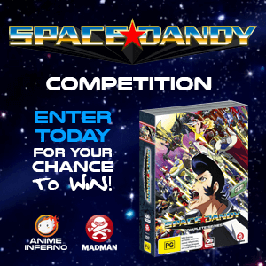Competition April 2017, Space Dandy Complete Series side ad image