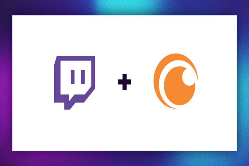 Twitch Crunchyroll Header