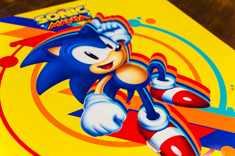 September 2017, Sonic Mania OST LP review, image 1