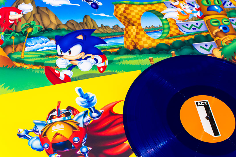 September 2017, Sonic Mania OST LP review, image 4