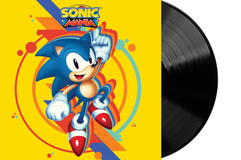 September 2017, Sonic Mania OST LP review, feature image