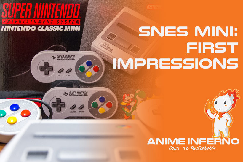 November 2017, SNES Mini First Impressions Feature image