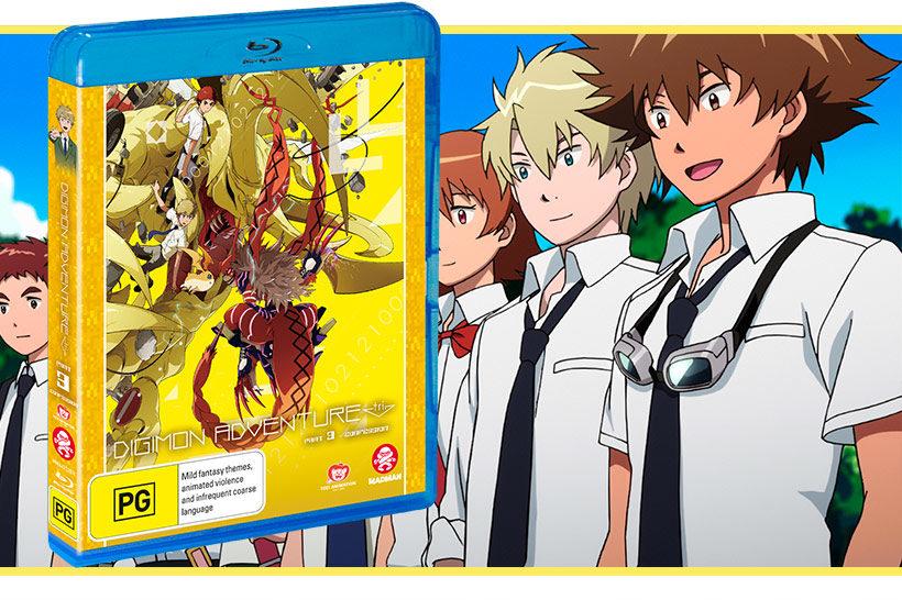 April 2018, Digimon Adventure Tri Part 3 Feature image