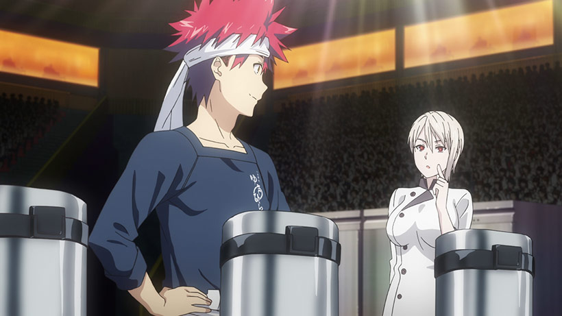 August 2018, Food Wars Season 2, image 1