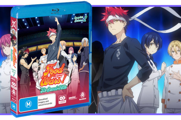 August 2018, Food Wars Season 2, Feature image
