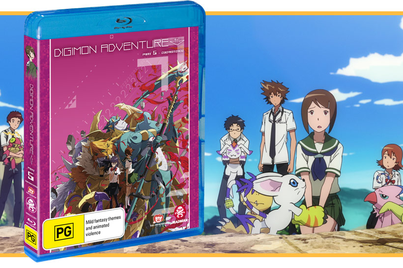 December 2018, Digimon Adventure Tri Part 5 Feature image