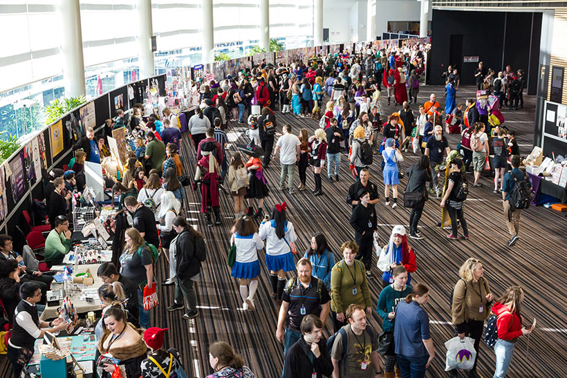 July 2019, AVCon 2019 Convention floor image 1