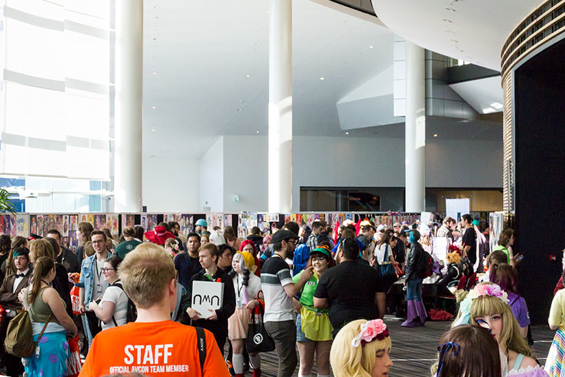 July 2019, AVCon 2019 Convention floor image 2