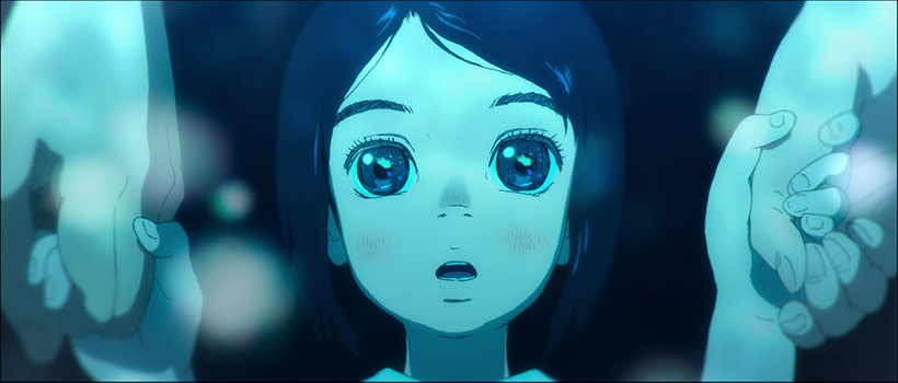 January 2021, Children of the Sea, Ruka as a child