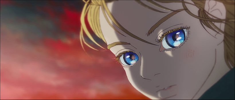 January 2021, Children of the Sea, Sora at sunset