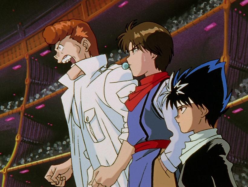 January 2021, Yu Yu Hakusho Complete Season 3, Kazuma, Koenma and Hiei