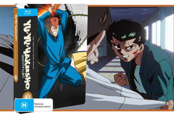 January 2021, Yu Yu Hakusho Complete Season 3, feature image