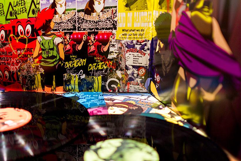 Cowboy Bebop Original Soundtrack vinyl, group shot of the package