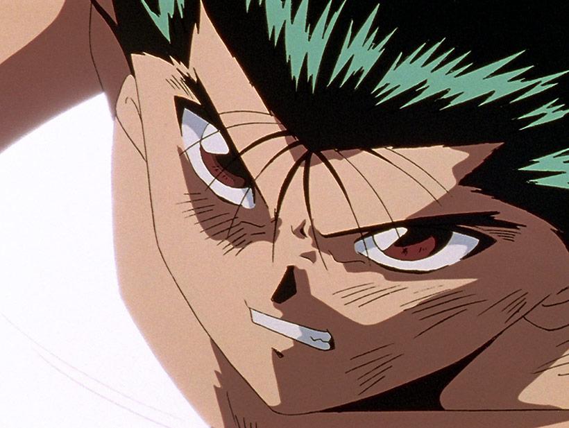 Yu Yu Hakusho Complete Season 4, Yusuke battling in the final tournament