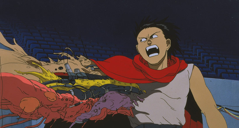 Akira 4K UHD release, Tetsuo's arm out of control