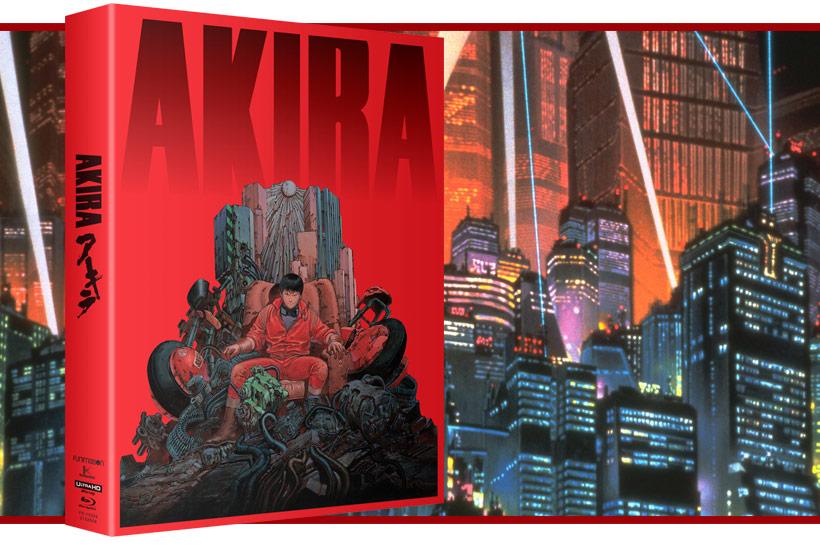Akira 4K UHD release, feature image