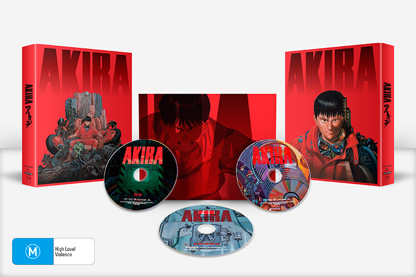Akira 4K UHD release, box set contents