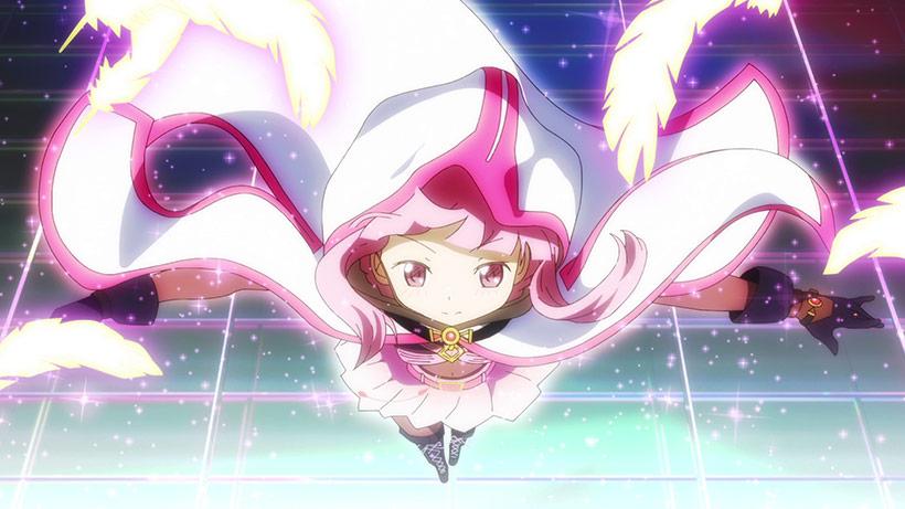 Magia Record: Puella Magi Madoka Magica Side Story Part 1 review, Tamaki transformation