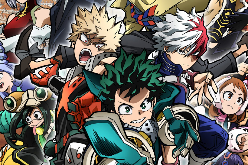 My Hero Academia: World Heroes Mission competition banner image